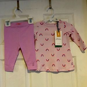 New Joules tunic & leggings outfit size 3-6 months